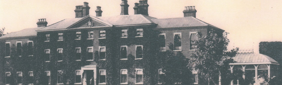 Hingham Hall in the 1900s