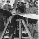 Royal Flying Corps Engine Testing at The Old Grammar School